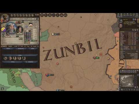 Crusader Kings 2 Ironman Timelapse, From Duke of Zunbil to Emperor of the Sun (Zunist Run) 6/7