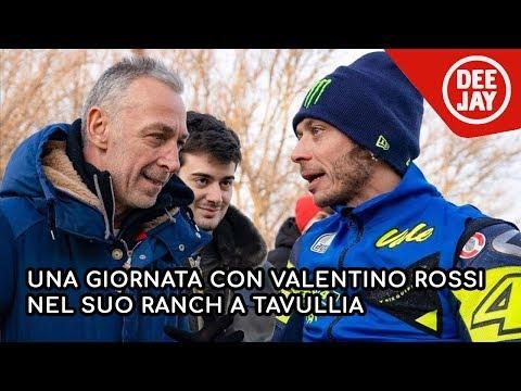 Tavullia: Linus e Matteo Curti al Ranch di Valentino Rossi
