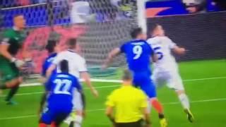 France - Iceland 5-2 Gool di Giroud Europei 2016