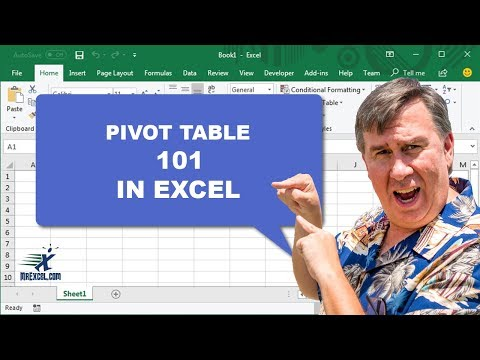MrExcel's Learn Excel #846 - 2007 Pivot Table 101