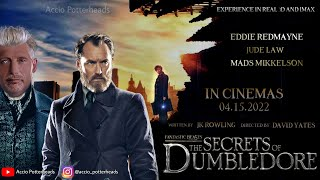 Fantastic Beasts 3- The Story Of Dumbledore Teaser | Warner Bros | November 2021