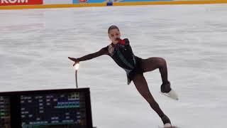 Камила Валиева Кубок Первого канала Произвольная программа 7 02 21 Kamila Valieva
