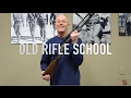 LETS TALK ABOUT OLD RIFLE SCHOOL