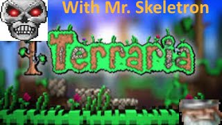 Terraria How to kill Skeletron (Curse of the old man)