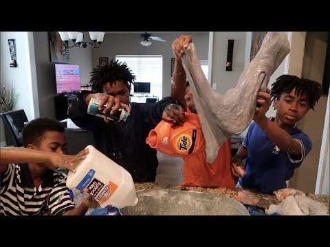 HOW TO MAKE KID'S  SLIME THE BAD KID'S EDITION!!!