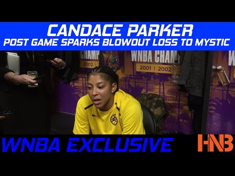Candace Parker Post Game on LA Sparks Blowout Loss to Washin