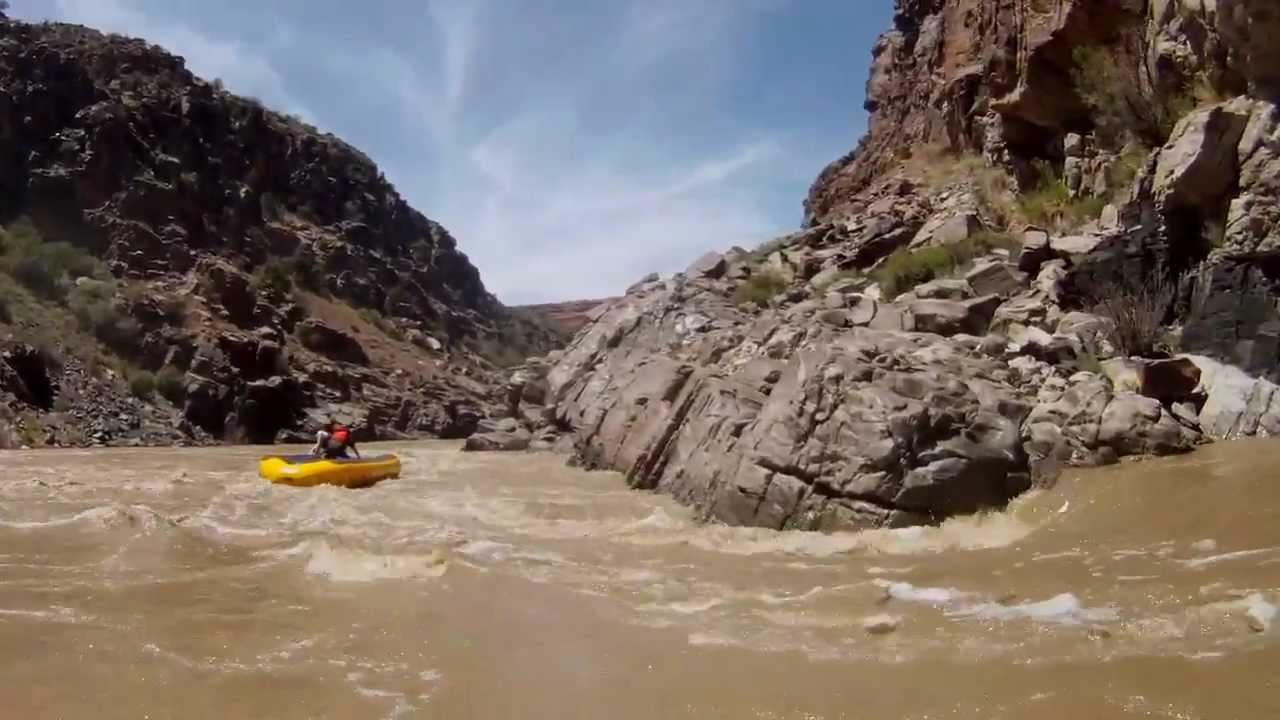 Westwater Canyon Skull Rapid High Water Moab Utah