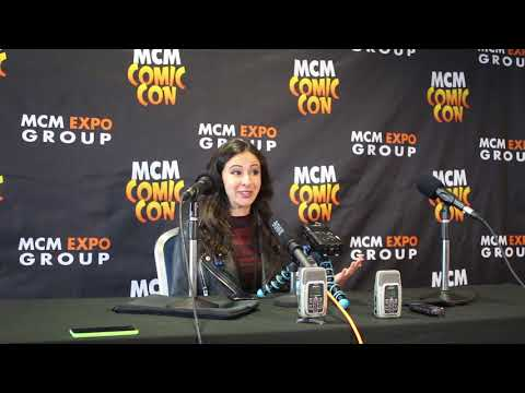 Jessica DiCicco London MCM Comic Con Round Table - Airlim
