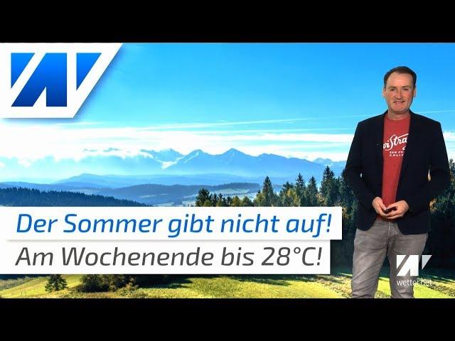Neue Wärme: Der Sommer gibt nicht auf!