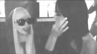 Lady Gaga Kisses Katy Perry