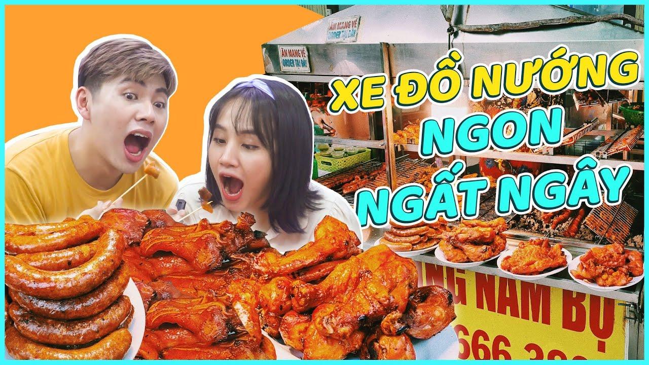 HNAG - Phát hiện XE ĐỒ NƯỚNG NGON NGẤT NGÂY chỉ 30K !!!!