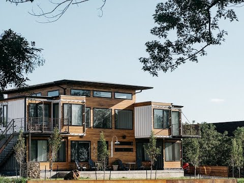 A Colorado Firefighter Built His Own Shipping Container Home