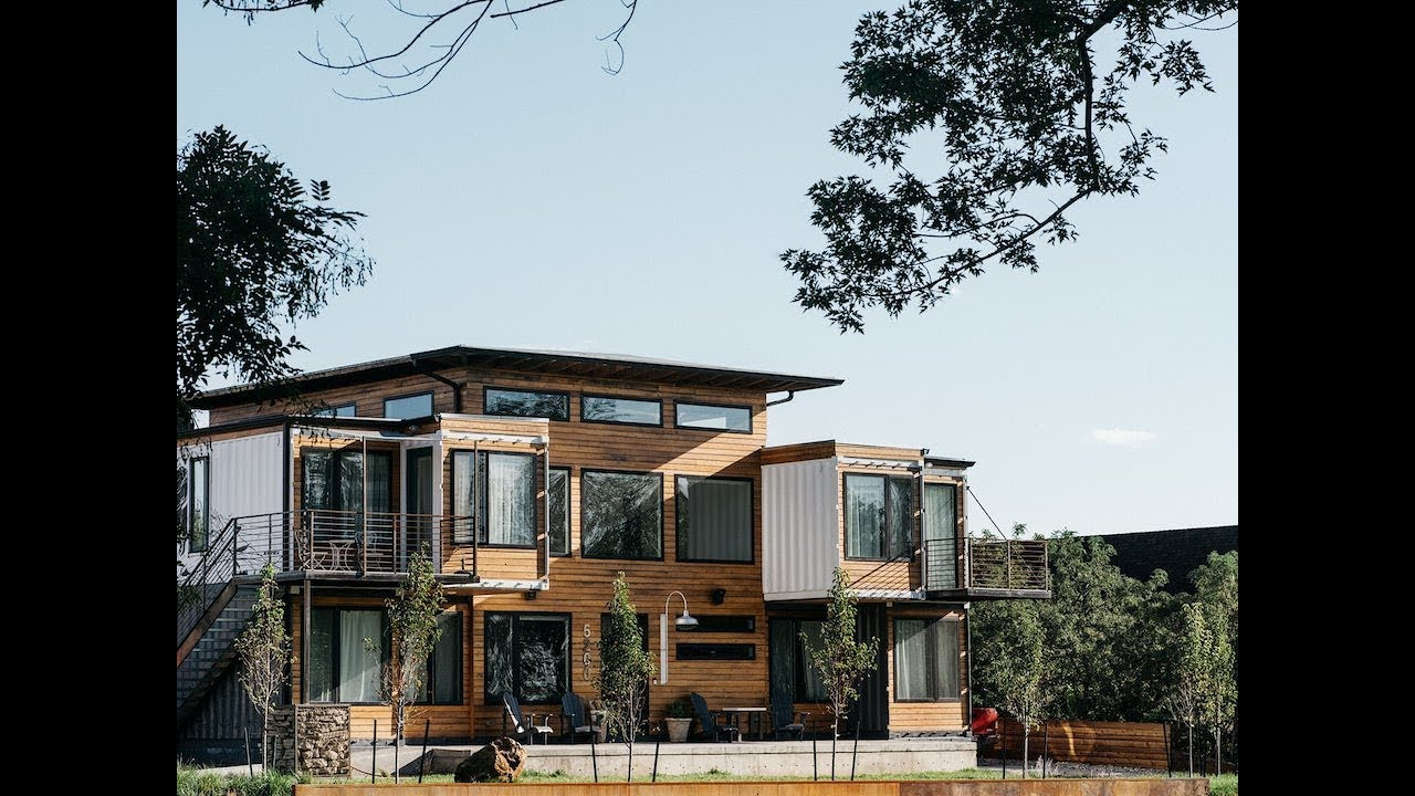 A colorado firefighter built his own shipping container - Shipping container homes pictures ...