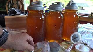 How To Extract Honey with Flow Hive Supers and ReCap Mason Jar Lids Easiest Method