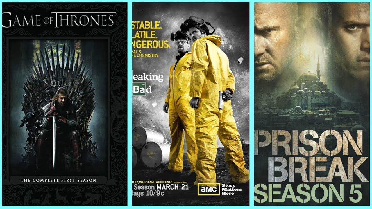 أحسن عشر مسلسلات أجنبية منتهية في التاريخ. لحد الآن.
