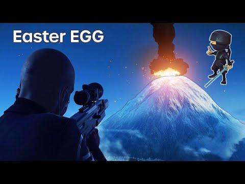 HITMAN Mini Ninjas Challenge Volcano Easter EGG |