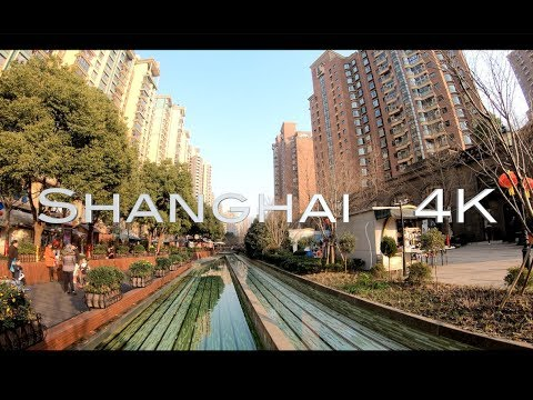 [4K] Shanghai Walk | Gubei  | Changning, Downtown Shanghai | China