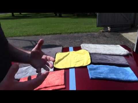 The Truth About Microfiber Towels - Lots Of Hype & Numbers!
