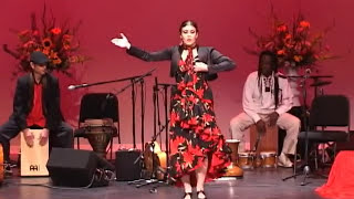 Indian Gypsy Cante -  flamenco dance mixed with Tamil folk India, Roma roots concert-oliver Rajamani