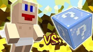 CUPIDO VS. LUCKY BLOCK FROSTY (MINECRAFT LUCKY BLOCK CHALLENGE)
