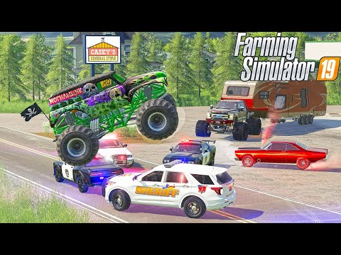 Redneck Hot Pursuit! (Cop Chase FS19) |