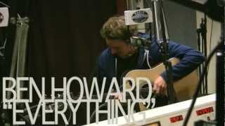 "Ben Howard - ""Everything"" - Live @ 5 - Radio Woodstock 100.1 - 3/30/12"