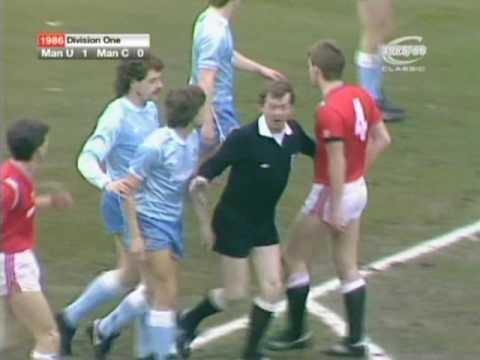 [85/86] Manchester Utd v Manchester City, Mar 22nd 1986
