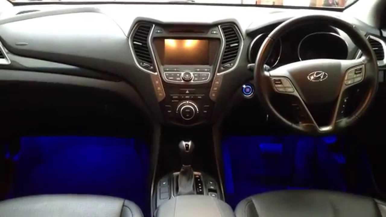 Hyundai Santa Fe Ambient Lighting Youtube