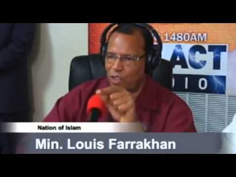 Farrakhan calls for a SHOWDOWN! Wants a public debate with Jewish organizations!
