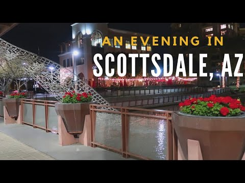 An Evening in Scottsdale| Our Anniversay| Living in Arizona