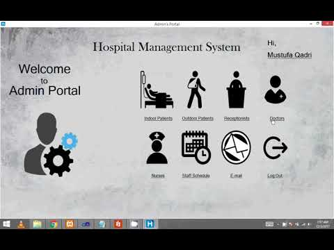 Hospital Management System ( Graphical User Interface )