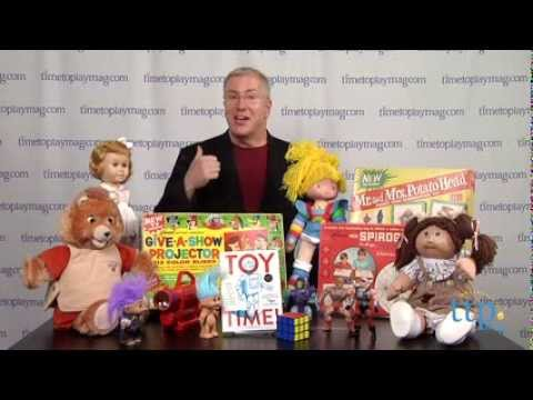 Toy Time, the new book from The Toy Guy Christopher Byrne