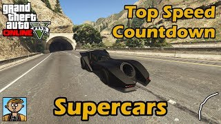 Fastest Supercars (2018) - GTA 5 Best Fully Upgraded Cars Top Speed Countdown