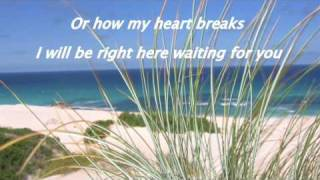 ♫♥♫Right here waiting for you - (piano) with lyrics
