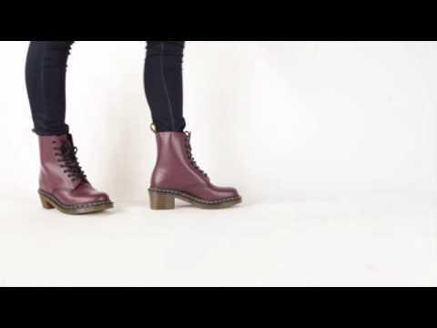 Dr. Martens Clemency 8 Tie Boot - YouTube
