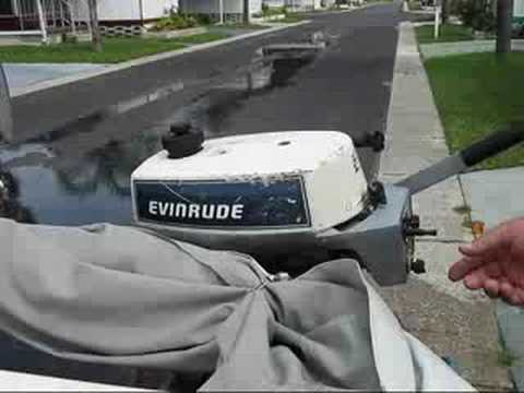 how to tell what year evinrude outboard is