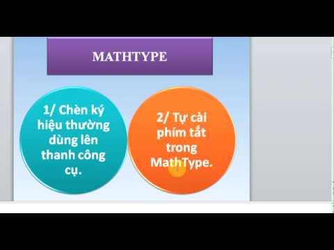 MathType Chèn công thức toán lên thanh công cụ, tự tạo phím tắt cho công thức (3/8)