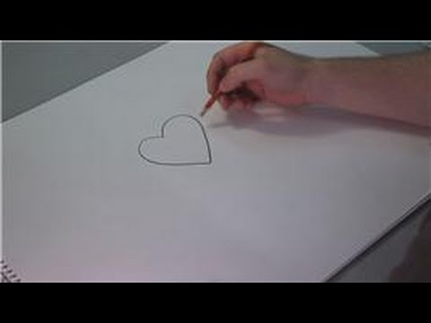Drawing Lessons : How to Draw a Heart With Designs