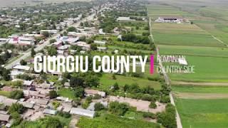 Romanian Countryside Giurgiu County DJI Mavic Air Drone 4K