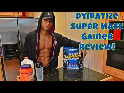 Dymatize Nutrition Super Mass Gainer Review- CARBS FOR MASS!