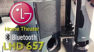 Review LG Home Theater LHD 657 New 2017 indonesia | HD