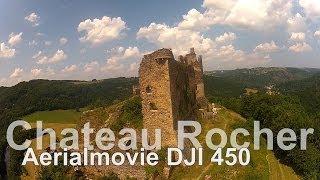 Aerialmovie // Auvergne // Chateau Rocher // DJI Flame // Quadrokopter // Go Pro