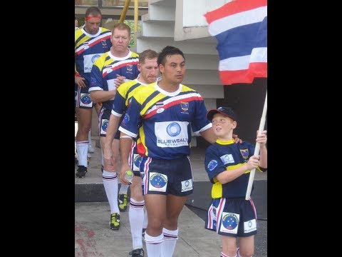 Thailand 'Stars' v Philippines 'Tamaraws' - 1st Asian game EVER of Rugby League