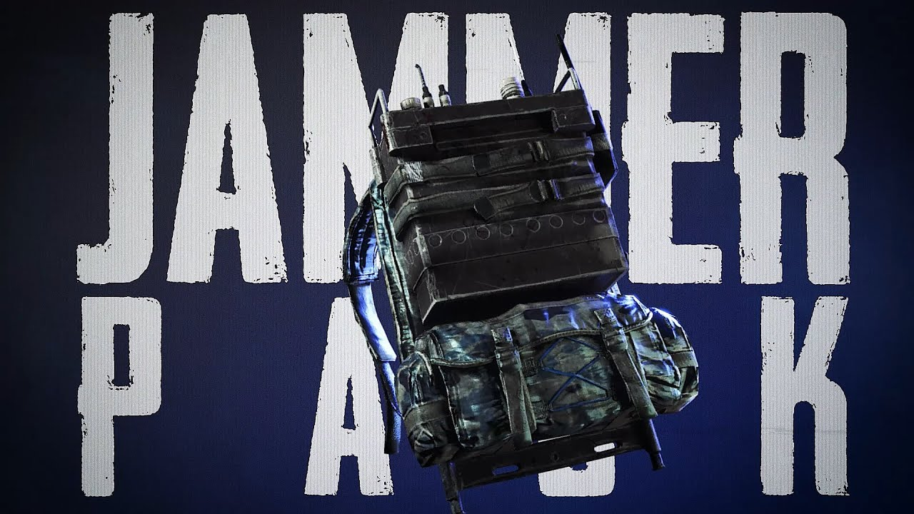 New Feature - Jammer Pack   PUBG