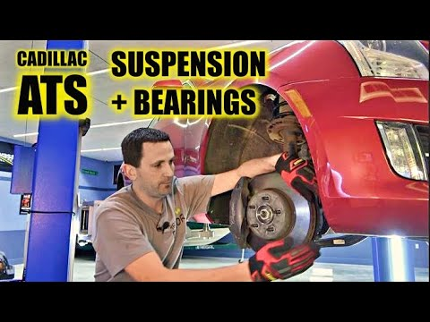 DIY! Replace Cadillac ATS Ball Joints, Wheel Bearings, Lower Suspension links, Knuckles +MORE