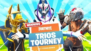 MECH IS GONE!! Trios Cash Cup Tournament! (Fortnite Battle Royale)
