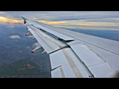 British Airways A321 Descent, Approach, Landing and Taxi at London Heathrow!
