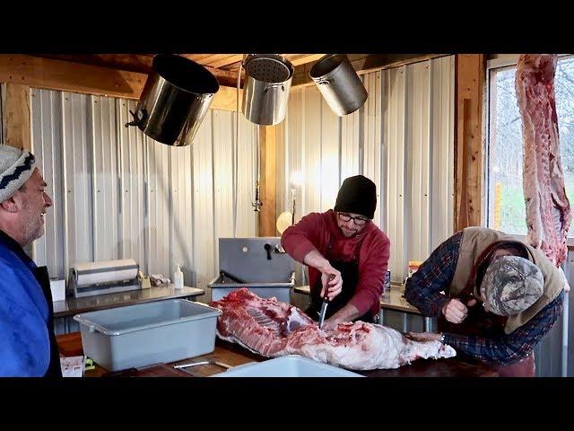 Butchering our Pasture Raised Pigs