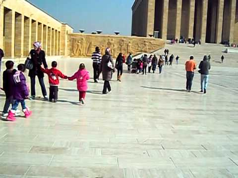Mausoléu de Atatürk - Ankara, Turquia