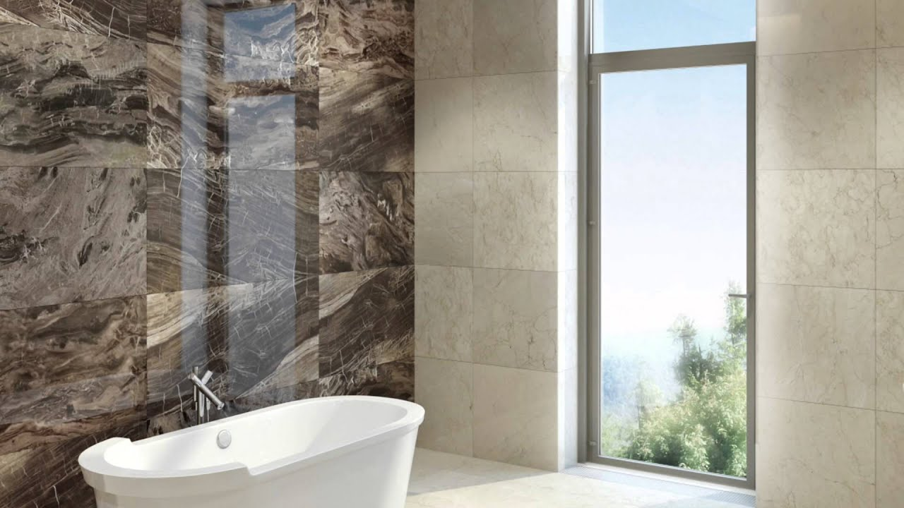 Bathroom design ideas bathroom tiles and mosaics from all marble tiles youtube Bathroom design ideas with marble